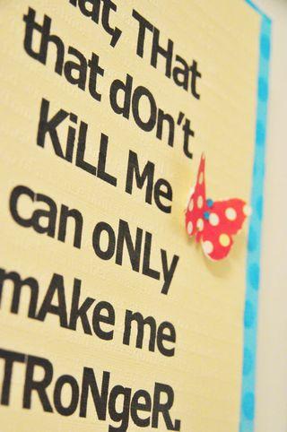 That that don't kill me 2