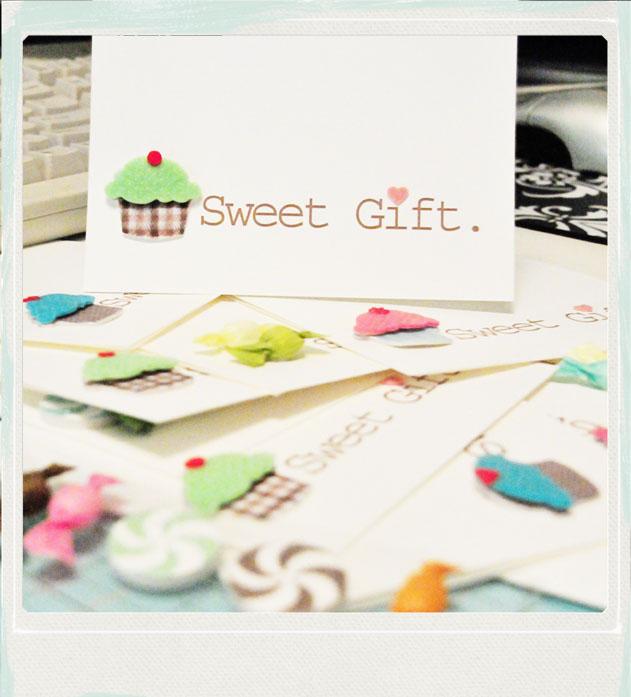 Sweet gift card 2