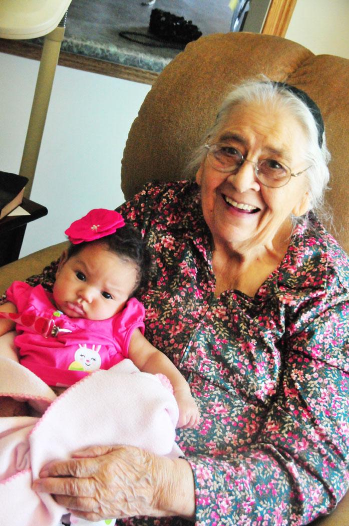 6 great grandma evelyn gracie