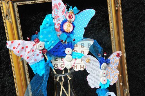 6 butterfly art