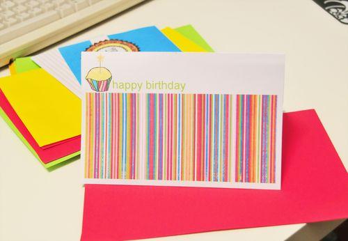 Happy birthday - altered