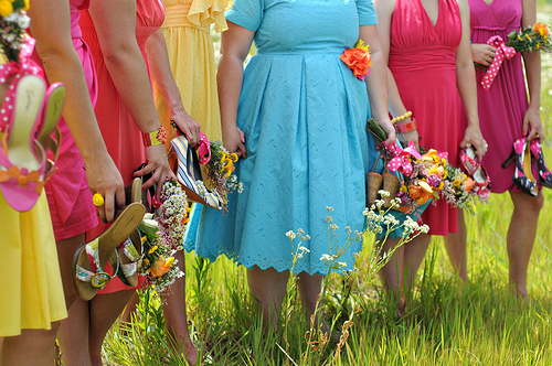 Girls shoes flowers2